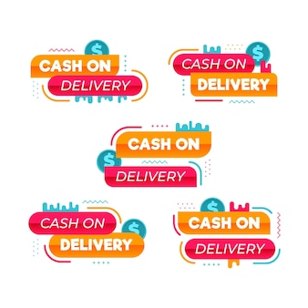 Cash on delivery label collection