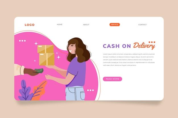 Шаблон целевой страницы наложенным платежом