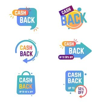 Cashback labels collection