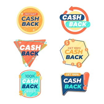 Cashback labels