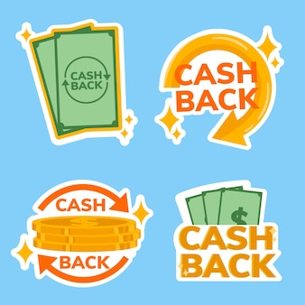 Пакет этикеток cashback