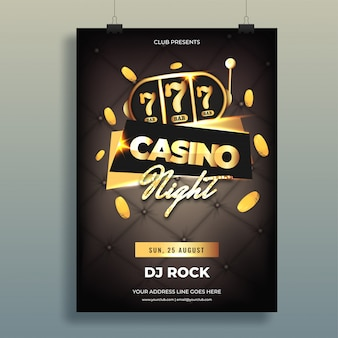 Casino background.