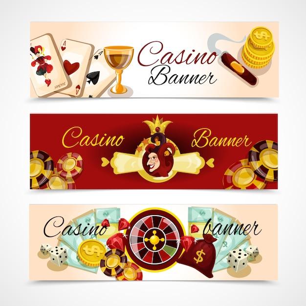 Casino Banner Set