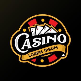 Casino card logo
