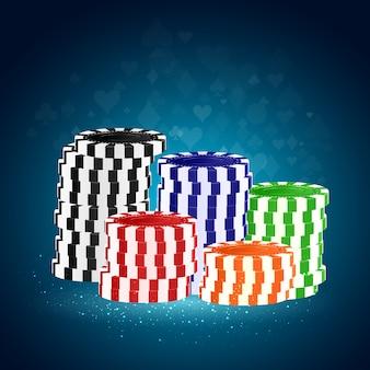 Фон фишек казино