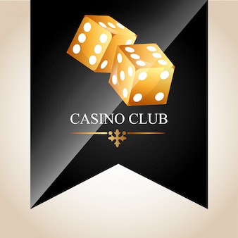 Casino club illustration
