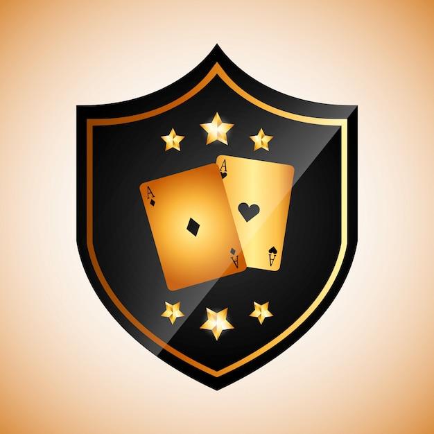 Casino club logotype