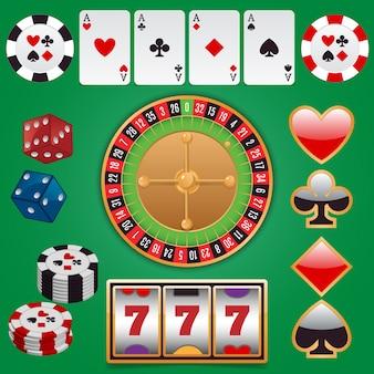 Элементы дизайна казино