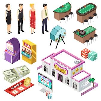 カジノ等尺性セット
