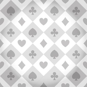 Casino pattern background vector illustration graphic design
