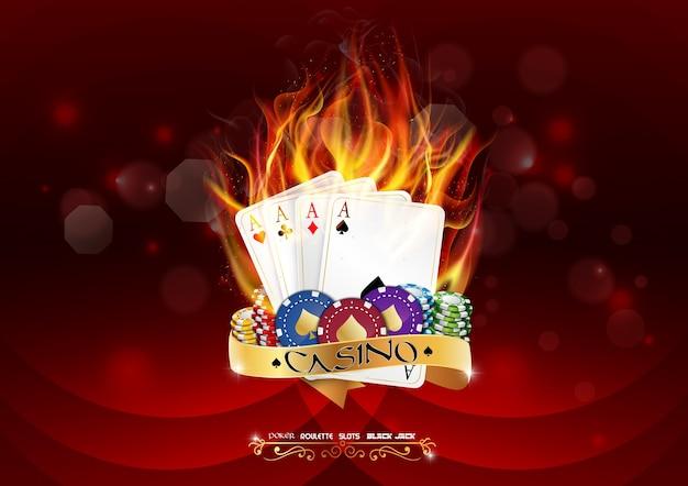 Casino poker banner