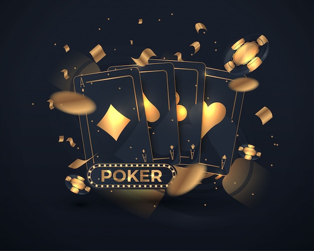 Casino poker card design