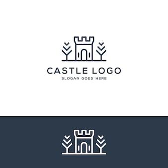 Castle logo concept
