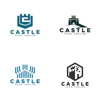 Дизайн логотипа castle