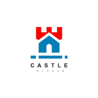 城のロゴの不動産