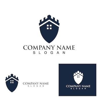 Castle logo and symbol vector eps10