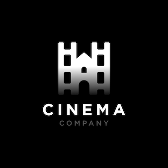 Castle with filmstripes movie logo