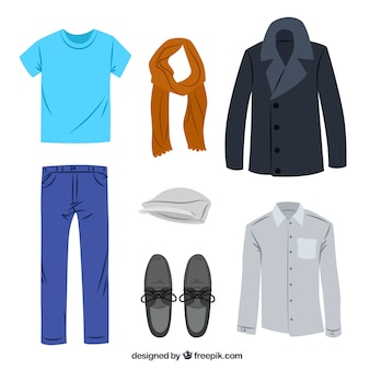 Casual men's clothing