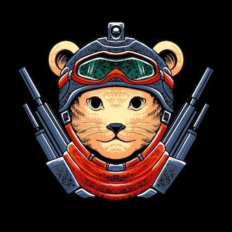 Воин армии кошек