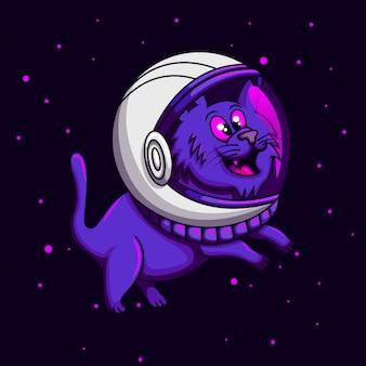 Cat astronaut