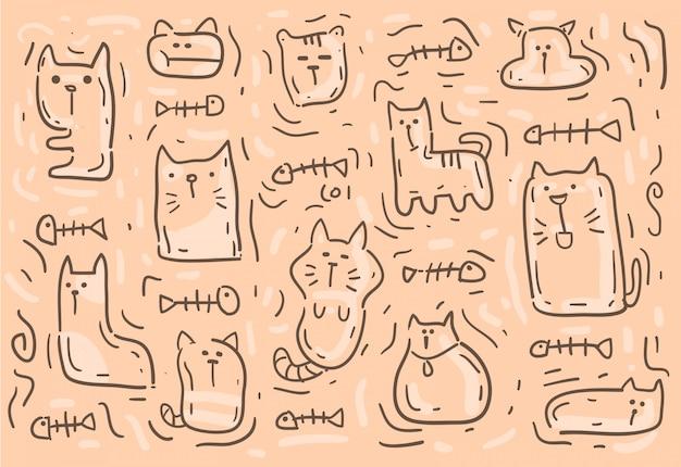 고양이 배경