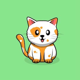 고양이 귀여운 만화.