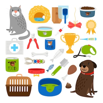 Cat and dog items