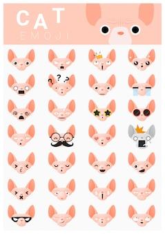 Cat emoji icons