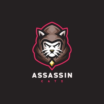 Логотип кошачьих игр