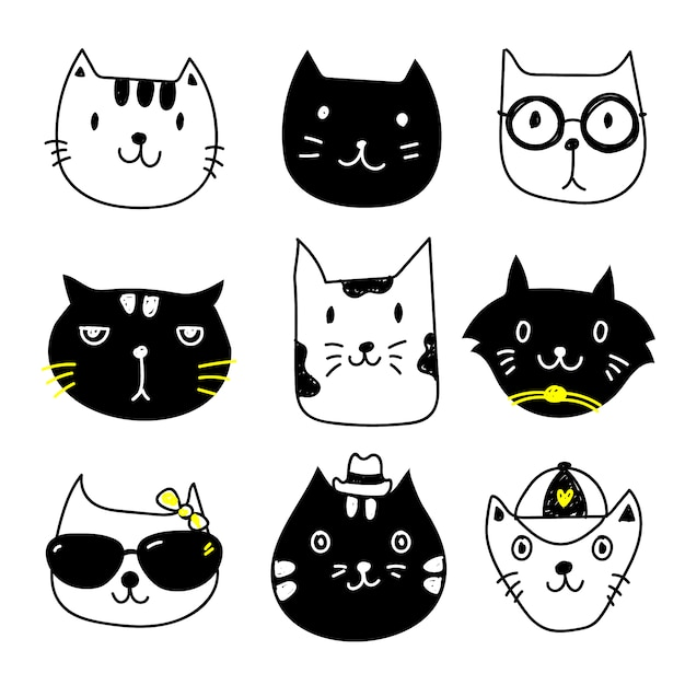 cat vectors photos and psd files free download rh freepik com vector cattivissimo me vector cathodic protection