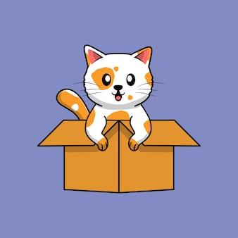 상자에 고양이