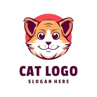 고양이 로고 디자인