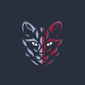 Кошка логотип