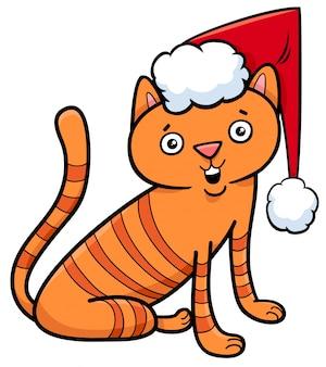 猫や子猫のクリスマスの漫画
