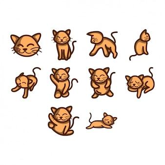Коллекция иконок cat