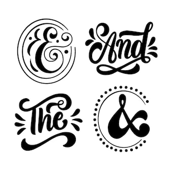 Catchwords lettering collection