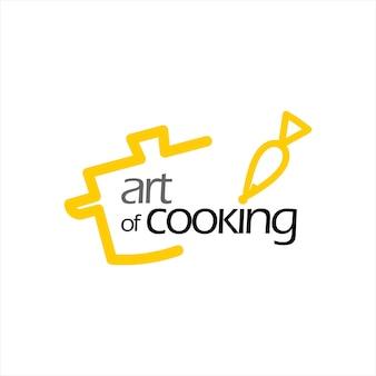 Шаблон дизайна логотипа кейтеринга и кулинарии