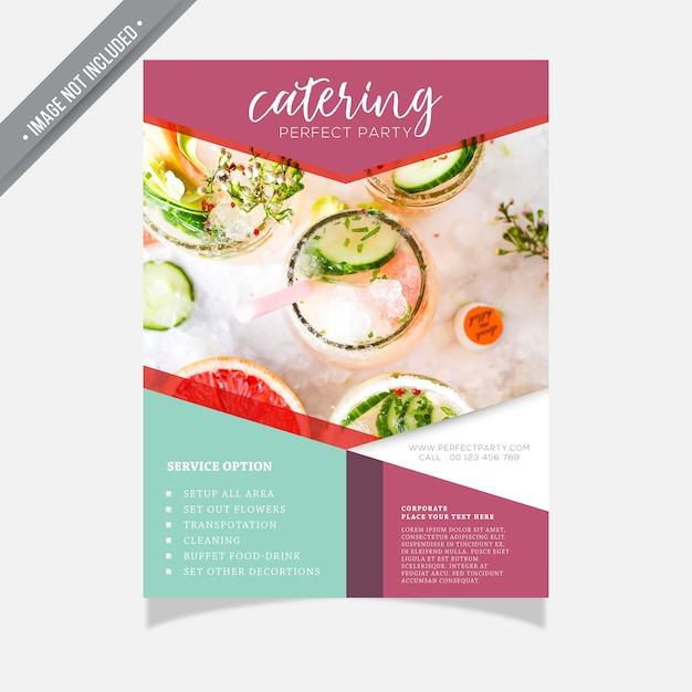 catering flyer template free akba greenw co