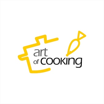 Catering and cooking logo design template