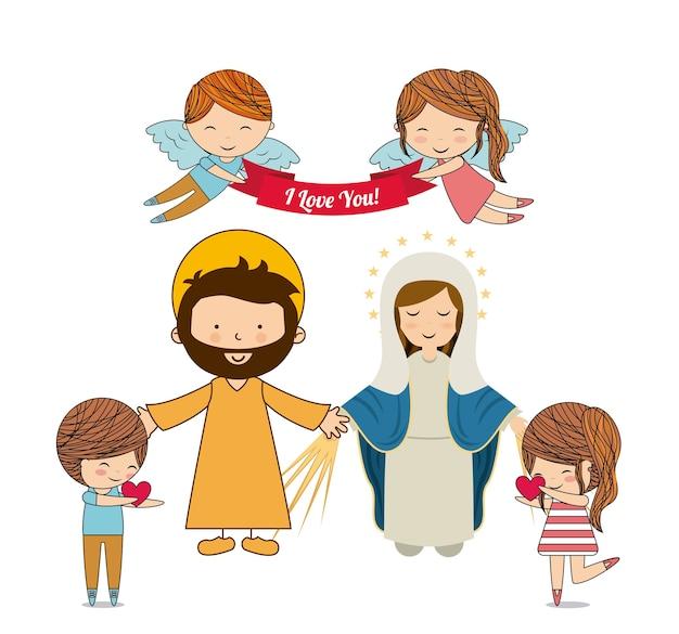 カトリックの愛のデザイン