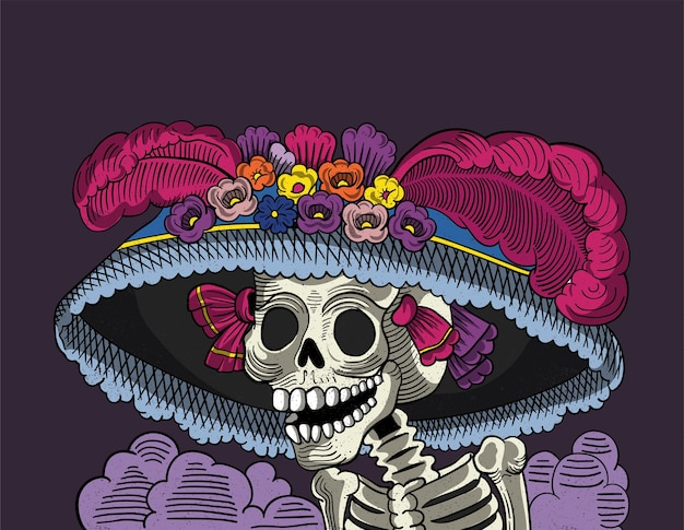 Catrina Vectors Photos And Psd Files Free Download