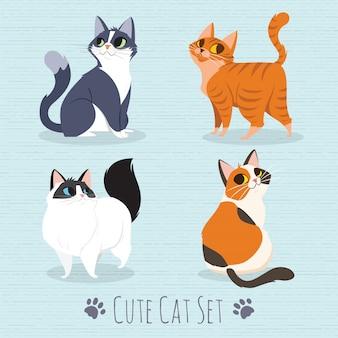 Cats breed set