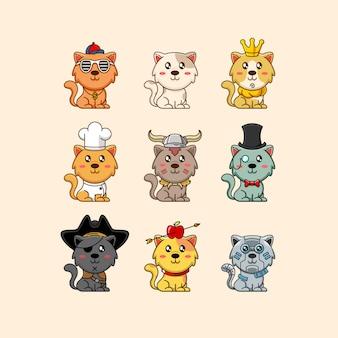 Cats character set