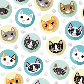 Cats and friends breeds