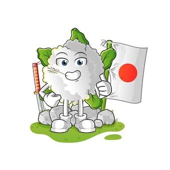 カリフラワー日本人
