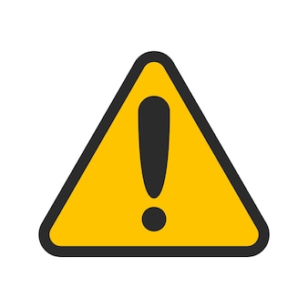 注意アラームセット危険標識収集注意アイコン
