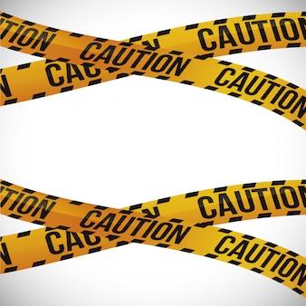 Caution icon design