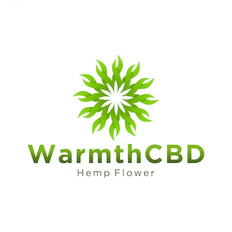 Cbd logo for legal use and medical