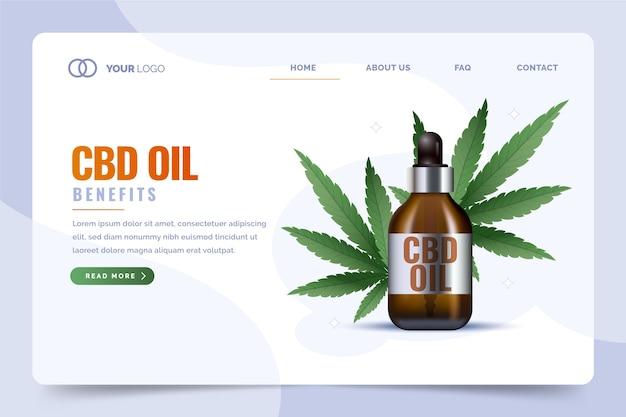 Шаблон целевой страницы cbd oil