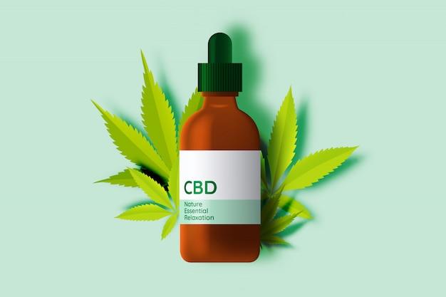 カンナビジオール葉を含むcbd製品
